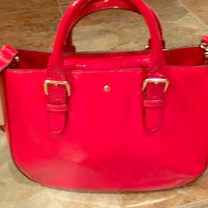 Kate Spade Red Patent Purse